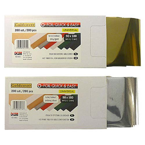 "MasterBind 3.5 x 7.1"" Silver Hot Stamping Foil - 200/PK (1161-D1100), MasterBind brand Image 1"
