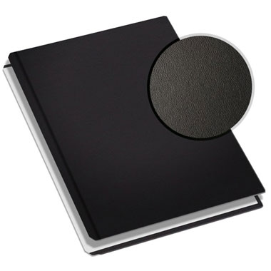 "MasterBind Black 11"" x 9"" Premium Leather Hard Covers w/ Tabs- 20 Covers / Pack (1161-94200) Image 1"