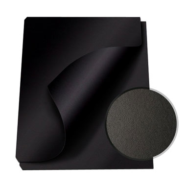 "MasterBind Black 8.5 x 11"" Composition Soft Covers - 100pk (1151-75D00) Image 1"
