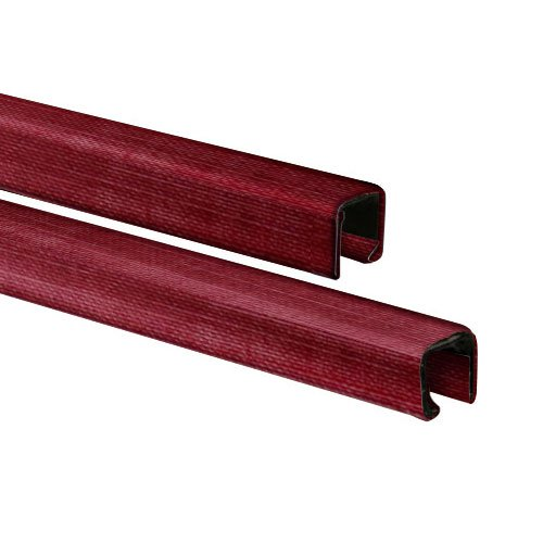 MasterBind Burgundy Classic Linen Finish Binding Channels - 10/BX (MBCL1161BG) Image 1