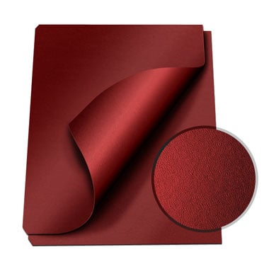 "MasterBind Maroon 8.5 x 11"" Composition Soft Covers - 100pk (1151-75D14) - $25.89 Image 1"
