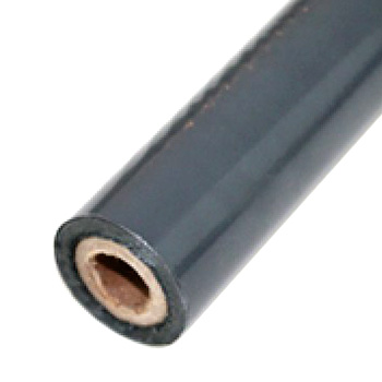 "2"" x 200' Matte Charcoal Hot Stamp Foil Roll (1/2"" Core) (MYBF1472X200F) - $17.59 Image 1"