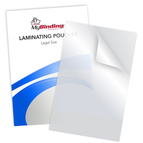 Matte Clear Legal Size Laminating Pouches - 100pk (MYLKLPLEGALMC) Image 1