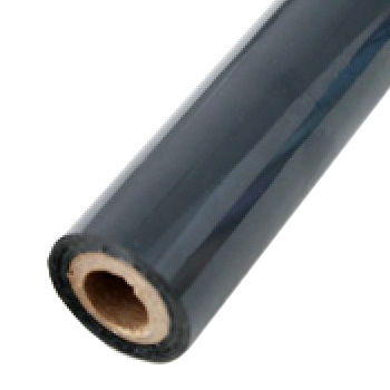 "4"" x 200' Matte Gray Hot Stamp Foil Roll (1/2"" Core) (MYBF1564X200F) Image 1"
