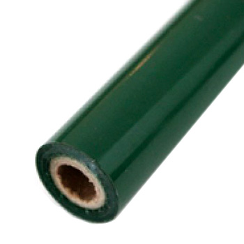 "3"" x 200' Matte Hunter Green Hot Stamp Foil Roll (1/2"" Core) (MYBF143h3X200F) Image 1"