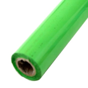 "2"" x 200' Matte Lime Green Hot Stamp Foil Roll (1/2"" Core) (MYBF1412X200F), Brands Image 1"