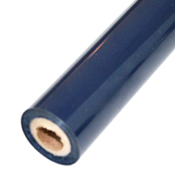 "2"" x 200' Matte Navy Hot Stamp Foil Roll (1/2"" Core) (MYBF1282X200F), Brands Image 1"