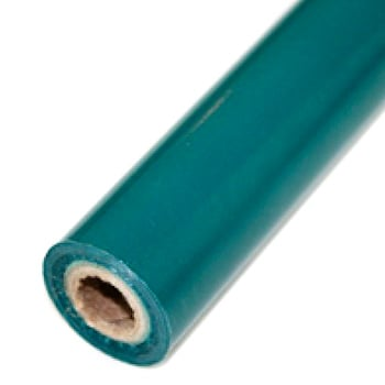 "3.5"" x 200' Matte Turquoise Hot Stamp Foil Roll (1/2"" Core) (MYBF1103.5X200F), MyBinding brand Image 1"