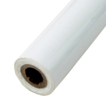 "2"" x 200' Matte White Hot Stamp Foil Roll (1/2"" Core) (MYBF1492X200F) Image 1"