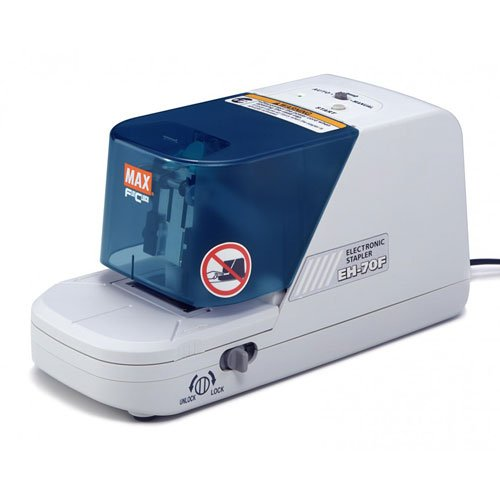 MAX Corp Electronic 70 Sheet Flat Clinch Stapler (EH-70F) Image 1