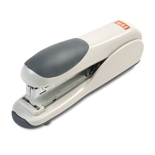 MAX Corp HD-50DF Gray Flat Clinch Standard Stapler (HD-50DF-GY) Image 1