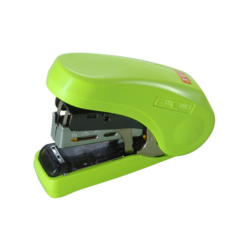 MAX Corp Light Effort Light Green Compact Flat Clinch Stapler (HD-10FL-LTGN) Image 1