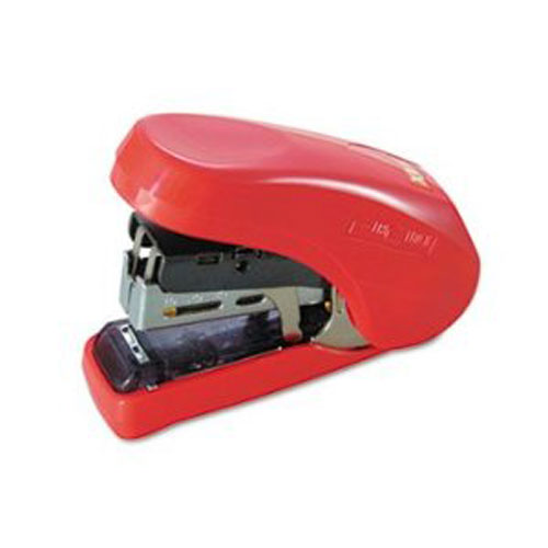 MAX Corp Light Effort Red Compact Flat Clinch Stapler (HD-10FL-RD) Image 1