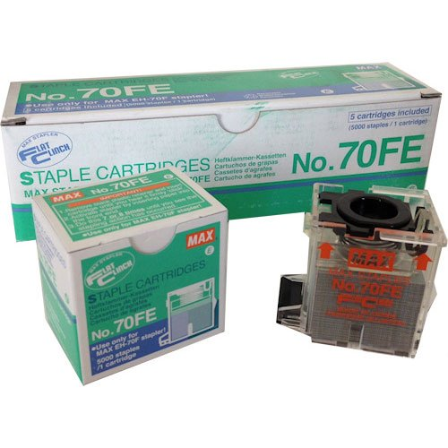 MAX Corp Stapler Cartridge for EH-70F 5000 Pack (70-FE) Image 1