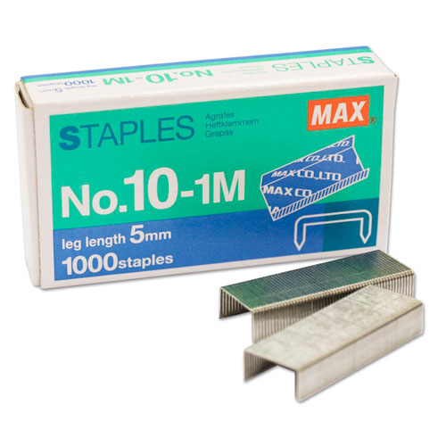 MAX Corp Staples for HD-10FL 1000 Pack (10-1M) - $0.84 Image 1