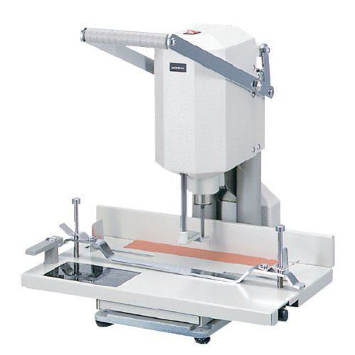 MBM 55 Single Spindle Paper Drill with Easy Glide Table (MB-55), MBM brand Image 1