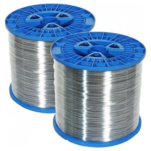 MBM 25 Gauge Round Stitching Wire 5 lb. Spool - 2 per carton (AC0872) - $69.63 Image 1