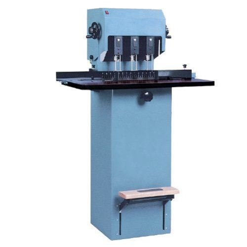 MBM FMM3 Three Spindle Floor Model Paper Drill (MB-FMM3) Image 1