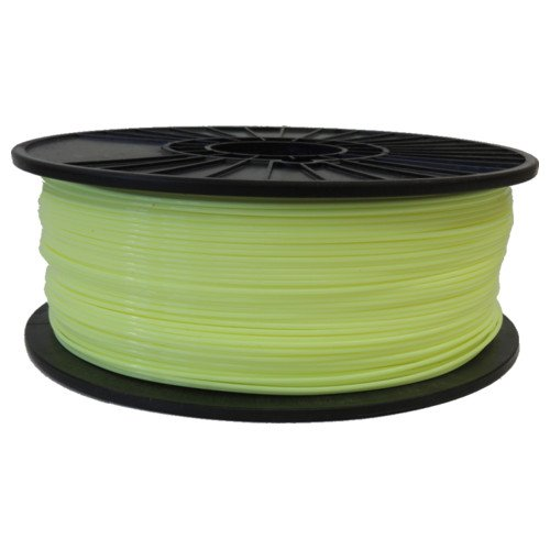 Mellow Yellow 1.75mm PLA Filament 2.5LB Spool (MYLPLAFSPOOL175) Image 1