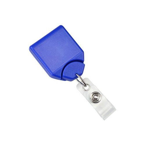 Metallic Blue B-REEL No-Twist Badge Reel With Swivel Belt Clip - 25pk (MYID21208002), MyBinding brand Image 1