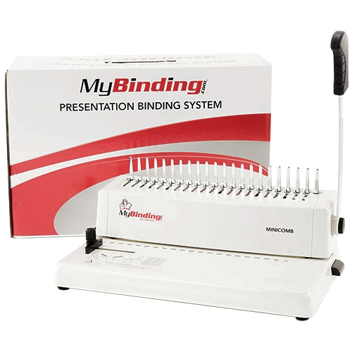Manual Plastic Comb Binding Machine (MINICOMB) Image 1