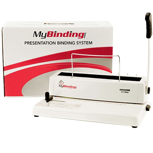 MINIWIRE Manual 3:1 Pitch Wire Binding Machine - Open Box (MYR-18-088-8), MyBinding brand Image 1
