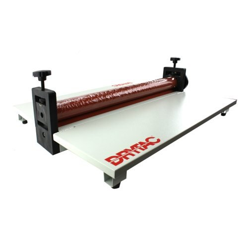 Drytac ML25 Manual Hand Crank Pressure Sensitive Cold Mount Roll Laminator (DTML25) Image 1