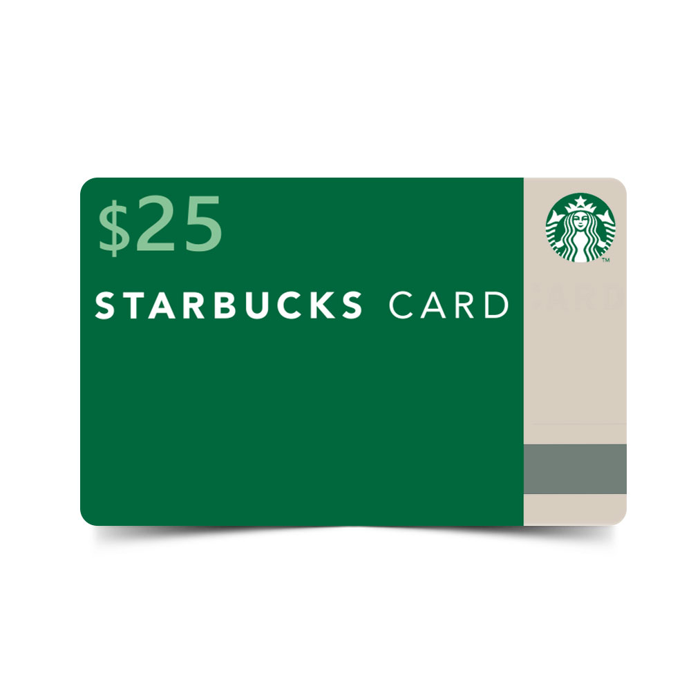 Starbucks Card ($25 Value) (Coffeecard25) Image 1