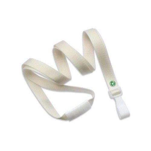 "Natural Recycled PET Break-Away 3/8"" Earth Friendly Lanyard - 100pk (2137-2062), MyBinding brand Image 1"