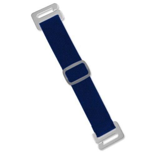 Navy Blue Adjustable Elastic Arm Band Straps - 100pk (1840-7203) Image 1