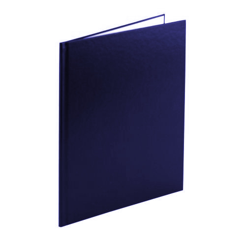 "Navy 3/4"" Standard Thermal Hard Cover Cases - Box of 5 (BITHC340NV) - $30.42 Image 1"
