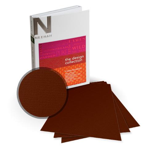 "Neenah Paper Oxford Burned Textured 8.75"" x 11.25"" 100lb Card Stock - 8 Sheets (NOCB400-I) - $6.89 Image 1"