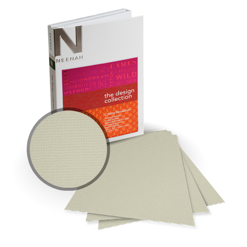 "Neenah Paper Oxford Peace Textured 12"" x 12"" 100lb Card Stock - 6 Sheets (NOCPE400-F) Image 1"