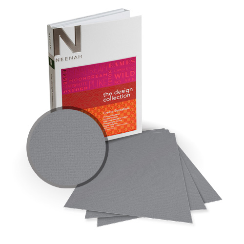 "Neenah Paper Oxford Wealth Textured 11"" x 17"" 100lb Card Stock - 4 Sheets (NOCWE400-E) Image 1"