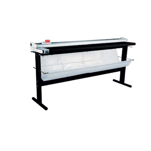 "Neolt Power Trim Plus 145 Manual 57"" Rotary Paper Cutter with Stand (NPTP145) Image 1"