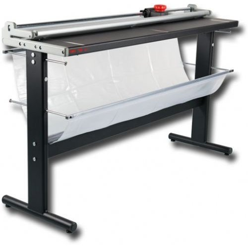 "Neolt Trim 200 Manual 79"" Rotary Paper Cutter With Stand and Bracket (NT200S) Image 1"