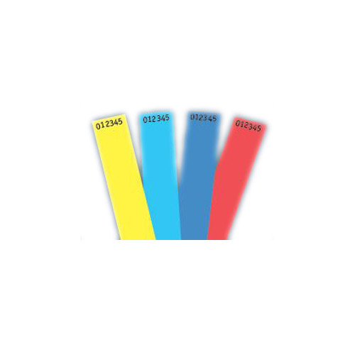 Non-Expiring Wristband - Red - 1000pk (06855), MyBinding brand Image 1