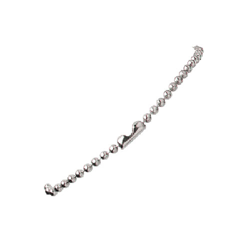 Silver Beaded Neck Chains Image 1