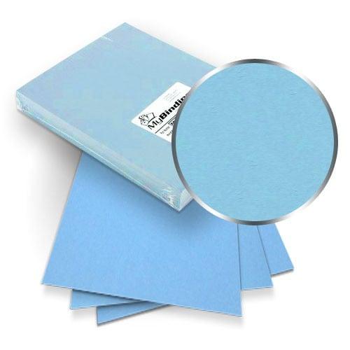 Ocean Blue Grain 10 x 13 Paper Binding Covers - 100pk (MYGR10X13OB), MyBinding brand Image 1