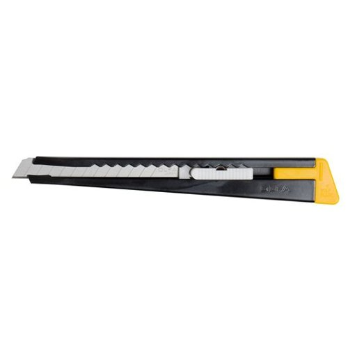 OLFA Model 180 Metal Body Slide-Lock Utility Knife With Blade Snapper (OLF-180), OLFA brand Image 1