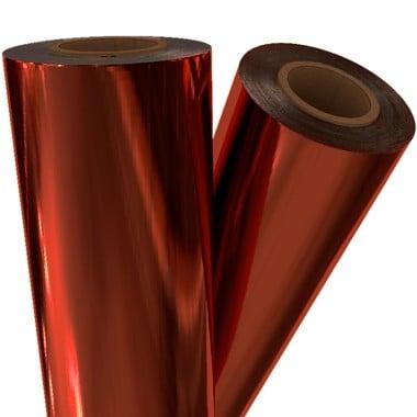 "Orange Metallic 12"" x 100' Laminating / Toner Fusing Foil (ORG-20-12) Image 1"