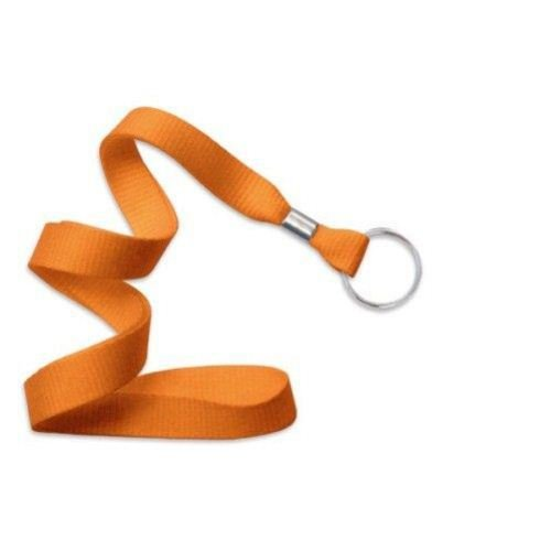 Orange Microweave Lanyard with NPS Split Ring - 100pk (MYID21363655) Image 1