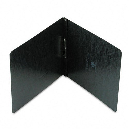 "Oxford 2"" Black 11""x8.5"" Pressboard Top Hinge Report Cover (ESS-71306) Image 1"
