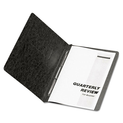 "Oxford 3"" Black 11""x8.5"" PressGuard Side Hinge Report Cover (ESS-12706) - $3.36 Image 1"
