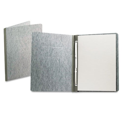 "Oxford 3"" Gray 11""x8.5"" PressGuard Side Hinge Report Cover (ESS-12705) - $3.35 Image 1"