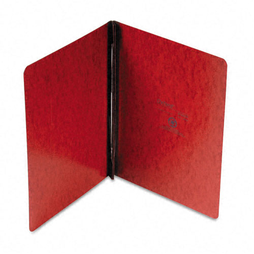 "Oxford 3"" Red 11""x8.5"" PressGuard Side Hinge Report Cover (ESS-12734) - $3.34 Image 1"