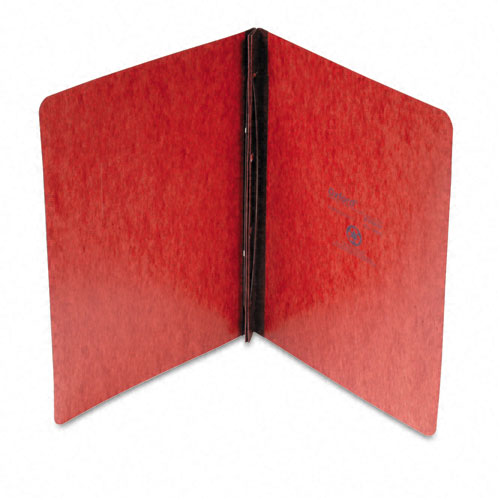 "Oxford 3"" Red Pressboard Side Hinge Report Cover (ESS-PSHRC3RD) - $2.79 Image 1"