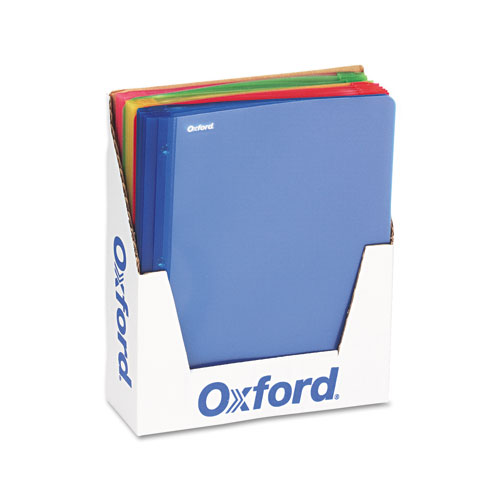 Oxford Assorted Clear Front Translucent Report Covers - 25pk (ESS-99812), Oxford brand Image 1