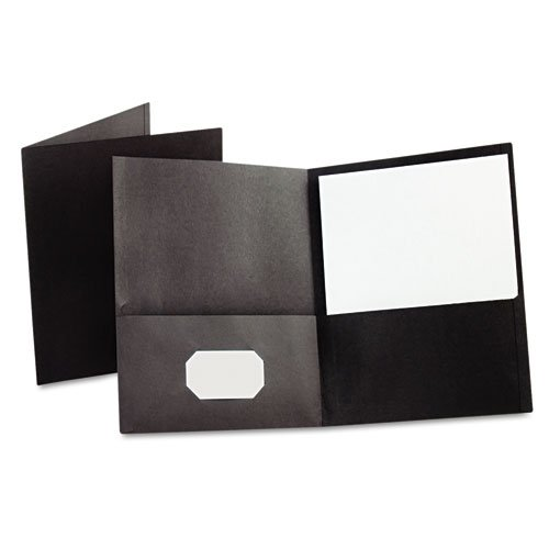 Black Paper Stock Business Cards Image 1