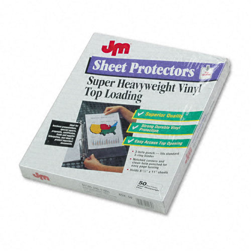Super Heavy Duty Sheet Protectors Image 1